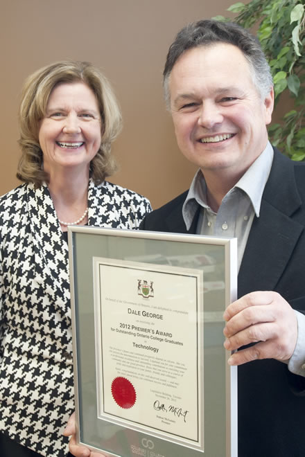 Dale George Wins Premier's Award for Technology