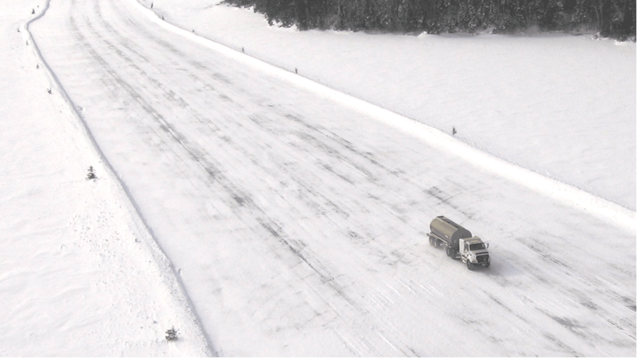 Winter roads in the North threatened by climate change